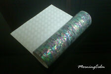 Prism Abalone Shell Flexible Enhanced Adhesive Veneer Sheet (Inlay Luthier)