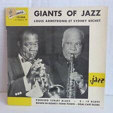 SIDNEY BECHET / LOUIS ARMSTRONG Perdido street blues ... BRUNSWICK 10068