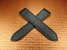 23mm Deployment Strap Carbon Fiber Watch Band X1 SANTOS 100 XL Large