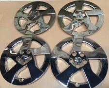 "Set of 4 Chrome 16"" Hubcap Wheel Cover  2010 11 Toyota Prius New 61156 Hubcaps"