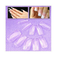 CY Superior High standard plastic 500 FULL COVER False Nails + Free Cable Tie