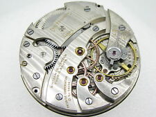 Vintage 1920's PAUL DITISHEIM (SOLVIL) Chronometer Pocket movement - 16J 4 ADJTS