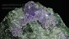 AMETHYST CRYSTAL CLUSTER ON MATRIX #83 includes FREE DISPLAY BASE