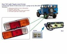 Rear Tail Light Toyota Land Cruiser Landcruiser BJ42 FJ40 FJ45 HJ47 Lamp LH & RH