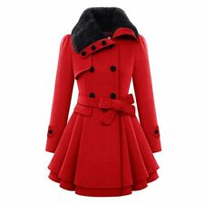 Fashion Women Warm Slim Coat Jacket Thick Parka Overcoat Long Winter Outwear