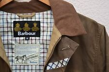 BARBOUR Pintodale Waxed Cotton Jacket MEDIUM