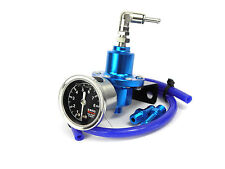 Blue FPR Adjustable Fuel Pressure Regulator Toyota Celica Starlet MR2 Supra