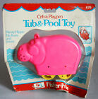 ULTRA RARE VINTAGE 1978 FISHER PRICE HENRY HIPPO TUB N POOL TOY NEW MISP !