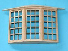 1/12 scale Dolls House Window DIY   45 Pane Bay Window  CV126