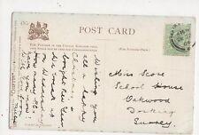 Miss Score School House Oakwood Dorking 1904 331a