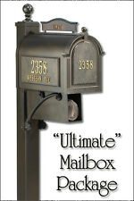 Whitehall Ultimate Curbside Mailbox Package $130 below MSRP + Lifetime Guarantee