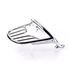 SHIPS SAME DAY! - Triumph A9758190 Bonneville T120 Chrome Grab Rail and Rack Kit