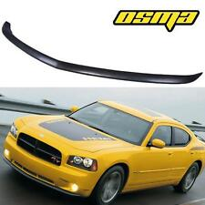 2005-2010 Dodge Charger Daytona Type Front Chin Lip Spoiler Poly 06 07 08 09 New