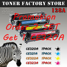 4PK 128A B/C/Y/M CE320A CE321A CE322A CE323A Toner For HP LaserJet Pro CP1525nw