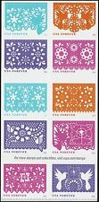 US 5090a Colorful Celebrations forever block set (10 stamps) MNH 2016