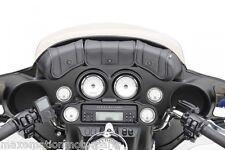 Harley-Davidson® Bagger komp. Windshield 3-fach-Tasche für FLH - Modelle 96-13