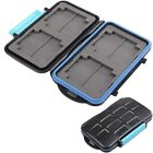 Waterproof Extremely tough Memory Card Case MC-2 for 4 CF cards 8 SD cards