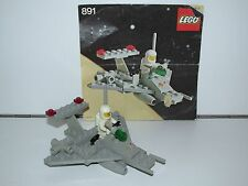 LEGO SPACE No 891 TWO SEATER SPACE SCOOTER 100% COMPLETE + INSTRUCTIONS 1980s