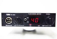 TEAM TS404  CB Mobil Funkgerät  40 CH FM 4 Watt, gut erhalten wie neu