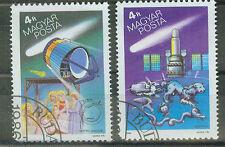 Briefmarken Ungarn 1986 Halleyscher Komet Mi.Nr.3808+09
