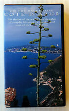 Cote D'Azur ~ On The Backroads ~ VHS Movie Video Tape ~ French Riviera ~ RARE