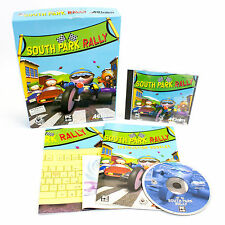 South Park Rally PC CD-ROM Game by Acclaim In Big Box - 2000 - VGC - CIB