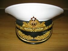 Soviet Russian Navy Admiral Visor Cap Hat USSR Military Uniform