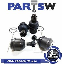 4 Pc Suspension Kit Upper Lower Ball Joints Fits Dodge Ram Pickup 1500 2500 3500