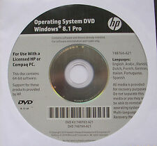 Windows 8.1 Professional 64 bit versione completa OEM-DVD PLUS Key