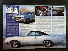 1966 Buick Gran Sport - 2 Page Article - Free Shipping