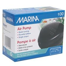 Hagen Marina 100 Quiet Aquarium Air Pump Up to 40 Gal #11114