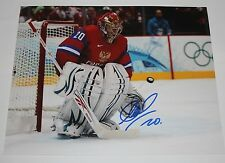Evgeni Nabokov signed Russia 8x10 photo COA