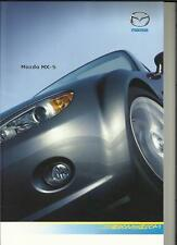 MAZDA MX-5 SOFT TOP AND ROADSTER COUPE SALES BROCHURE JULY 2007
