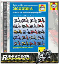 Twist & Go (automatic transmission) Scooters Repair Manual Haynes Manual (4082)