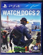 Watch Dogs 2: (Sony PlayStation 4, 2016)  PS4 NEW Factory Sealed