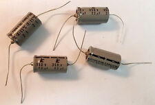 (Lot of 5) ILLINOIS CAPACITOR 22uf 350v Electrolytic Axial Capacitor NOS 30 x 16