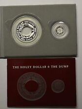 GN697 - Australien The Holey Dollar & the Dump 1990 KM#131 + KM#132 Silber RAR