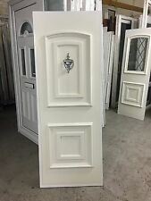Second Hand UPVC Door Panel, 655mm Wide By 1765mm Height, 18mm Thick, (P418)