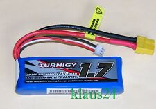 LIPO Akku TURNIGY  1700mAh 2S  7,4V  20C –30C (1/16 Monster Beatle, SCT & Buggy)