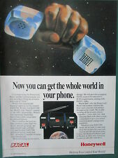 11/1994 PUB HONEYWELL RACAL SATCOM SATELLITE COMMUNICATION SYSTEMS ORIGINAL AD