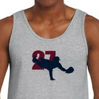 MIKE TROUT #27 Los Angeles Angels T-shirt jersey MLB Superstar Men's Tank Top