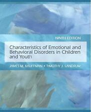 Characteristics of Emotional and Behavioral Disorders of Children and Youth 9th