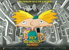 Hey Arnold movie poster - Nickelodeon - 12 x 16 inches