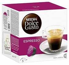 Dolce Gusto Espresso Coffee (3 Boxes,Total 48 Capsules ) 48 Servings