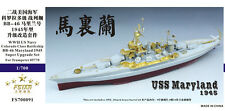 Five Star 1/700 700091 USS Battleship Maryland 1945 for Trumpeter