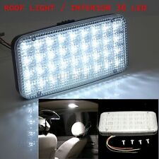 LAMP BLANCO 36 LED ROOF LIGHT COCHE AZOTEA BÓVEDA LUZ TECHO INTERIOR LAMPARA 12V