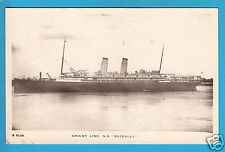 "Shipping: Orient Line S.S. ""Osterley"" RP PC PU 1910 Paquebots (P2196)"