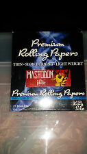 Mastodon THE HUNTER Premium Rolling Papers Package King Size box of 25 SEALED!!!