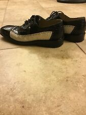Max Leather Alligator and Ostrich Men's Shoes Size 11 Trenton Style