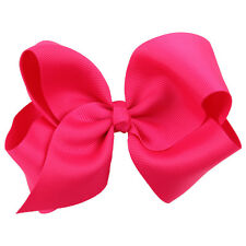 4.7 Inch 16 pcs/lot Girls Kids Children Hairbow Baby Hair Bows Clips Bowknot